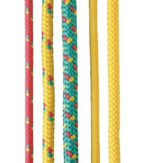 #4519 PPV lano farebné s jadrom pletené 8mm