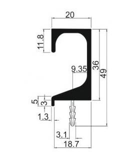 závitník sadový M 9x1,25 sada NO 2N ČSN 2 3010
