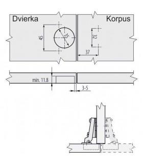 skúšačka KF1301 1417 140mm, pero