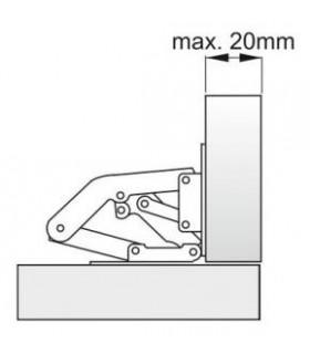 zamok Blossom 2500 45 mm, visiaci